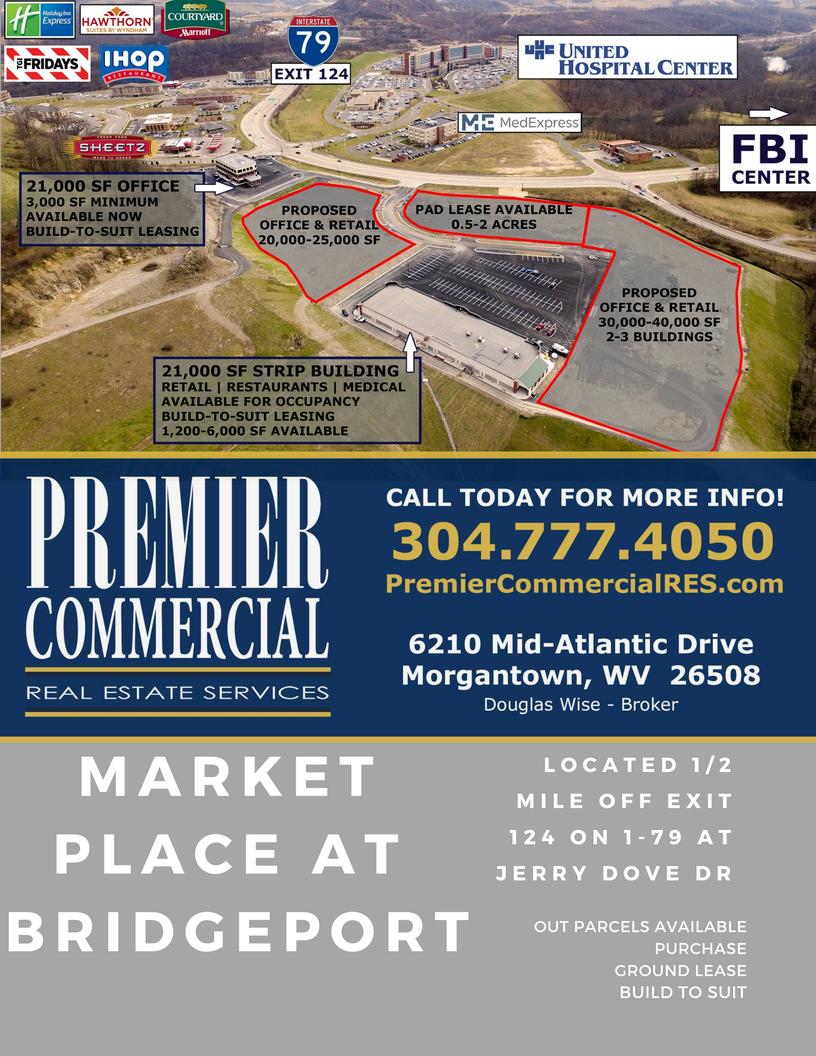 Market Place Bridgeport Wv Premier Commercial